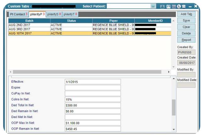 AdvancedMD Patient Eligibility Verification